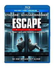 ESCAPE PLAN BLU-RAY / DVD - STALLONE - SCHWARZENEGGER