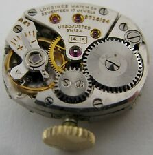 Lady Longines 14.16 Watch movement & dial for parts ...