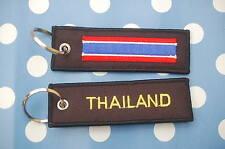 Thailand Schlüsselanhänger Anhänger Flagge Fahne