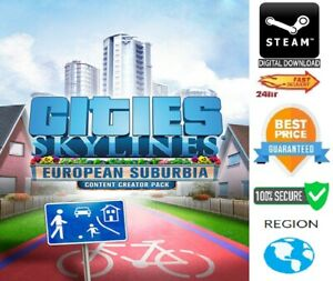 Cities: Skylines Content Creator Pack: European Suburbia DLC PC/Mac Steam