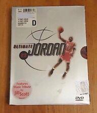 New ULTIMATE JORDAN DVD (2001 2-Disc Set) Sealed Michael