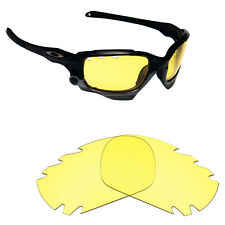 Hawkry Replacement Lenses for-Oakley Jawbone Vented HD Yellow