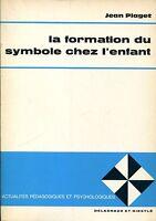 Jean Piaget = LA FORMATION DU SYMBOLE CHEZ L'ENFANT