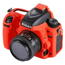 AMZER Soft Silicone Protective Case for Nikon D750 - Red