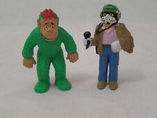 Lot de 2 Figurines Téléchat FR3, schleich w.germany 1983 neuf (voir photos)