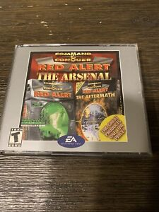 Command & Conquer: Red Alert -- The Arsenal Jewel Case, in great shape