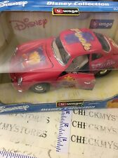 new Bburago Disney Collection Porsche 356 b cou Winnie The Pooh 1/18  Made Italy
