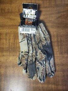 Wells Lamont, Mens Hunting One Size Sportsman Camouflage Jersey Work Gloves
