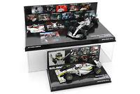2x 1/43 Minichamps Jenson Button 2009 Brawn Lewis Hamilton 2019 Mercedes F1