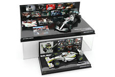 2x 1/43 Minichamps Jenson Button 2009 Brawn Lewis Hamilton 2019 Mercedes F1