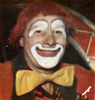 MONACO  FEUILLET PHILATELIQUE CEF 92 S UN CLOWN  LE CIRQUE  1975
