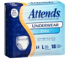 Attends Extra Adult Underwear, LARGE, Moderate Absorbency, AP0730 - Case of 72