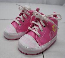 Gerber Girls 6-9 Months Pink Cutie Pie High Top Booties Shoes NEW