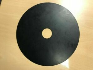Custom Silicone Rubber Turntable Mat 3mm Thick Black for Technics SL-6