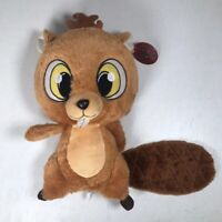 """Billy Beaver Plush Brown Stuffed Animal Toy 17"""" BJ Toy Company NEW"""