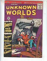 """Unknown Worlds 32 VF- (7.5) 7/64 ACG! """"Portrait of Priscilla!"""""""