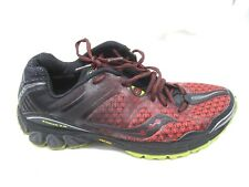 Saucony  Xodus ISo 2.0 red trail running mens tennis  athletic shoes sz 8D