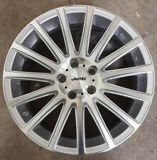 """Autec Fanatic F7517 17"""" Inch Alloy Wheel Brillliant Silver ET46 7.5J 5x108 Ford"""
