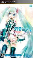 PSP Project DIVA :Hatsune Miku 2009/Sony Japan