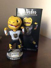 Las Vegas Golden Knights 2018 Chance Mascot Bobblehead 02/19 Ducks First VGK