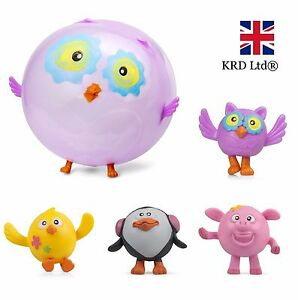 ANIMAL BALLOON BALL Inflatable Assorted Farm Blowup Squeeze Bouncing Balls Gift