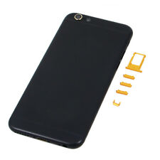 New Replacement Middle Housing Back Battery Door Cover for iphone 6 6 Plus Black