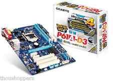 Gigabyte P61A-D3 Intel H61 LGA1155 Motherboard DDR3 ATX Mainboard