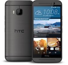 "5"" HTC One M9 32GB 3GB RAM Smartphone (Unlocked, Dark Gunmetal) GPS 20MP 4G LTE"