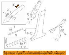 GM OEM Interior-Winshield Pillar Trim Retainer 11611451