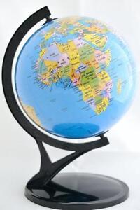 Globus 606 Schreibtisch Und Tischplatte Politisch Weltkugel