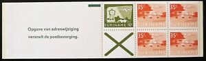 Suriname stamps booklet - Surinamese images_2 - MNH.