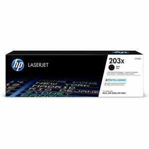 Genuine OEM HP 203X High Yield LaserJet Toner Cartridge - Black (CF540X)