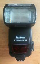 Nikon SB-800 Speedlight Shoe Mount Flash Original Packaging Manual & Bag