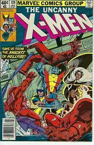 Uncanny X-Men #129 (Marvel 1979) : 1st Kitty Pride Emma Frost