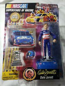 Racing Champions SuperstarsDale JarrettAction Figure NASCAR Set