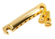 Kluson Wraparound Stopbar Tailpiece Stop Bar Tail Piece • Aluminium • Gold