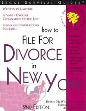 How to File for Divorce in New York-ExLibrary