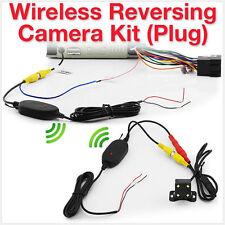 Wireless Car Reversing Camera Kit Reverse Parking Rear Backup View Plug ET