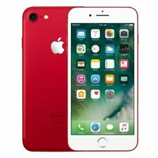 "New AppleⓉiPhone 7 -128GB- (PRODUCT)RED- (Factory Unlocked) 4.7"" 12MP Smartphone"