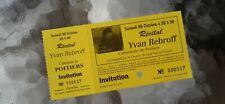 YVAN REBROFF presse