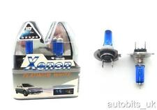 2 X H7 SUPER WHITE XENON 55W HID LOW / DIPPED BEAM HEADLIGHT BULBS 499 / 477