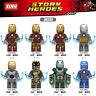 Bausteine The Avengers Iron Man Figur Kinder Super Hero DIY Spielzeug Modell