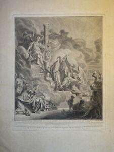 LONSING (1739-1799) BELLE GRAVURE XVIII° ARCHITECTURE LOUIS XVI MARIE ANTOINETTE