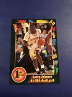 1991 Wild Card # 1 LARRY JOHNSON ROOKIE RC Charlotte Hornets UNLV