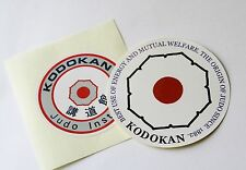 Kodokan Judo stickers 2 pcs Jigoro Kano