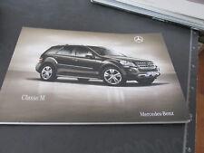 MERCEDES BENZ CLASSE M prospetto brochure 85 pagine ITALIANO