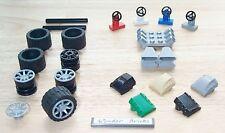 Lego Wheels Tire 7-Spoke Cover V6 Engine Base Air Scoop