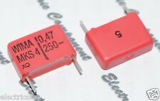 10pcs - WIMA MKS4 0.47uF (0.47µF 0,47uF 470nF) 250V 5% pitch:15mm Capacitor