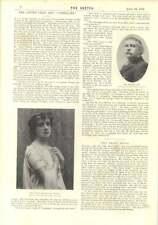 1896 ADA Reeve Julie Bonbon Irving CLUB IL SIGNOR CHARLES Fry Miss Oliva KENNETT