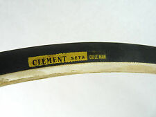"Clement Seta Tire Tubular Single Colle Main Silk Vintage 700c 27"" Bike track NOS"